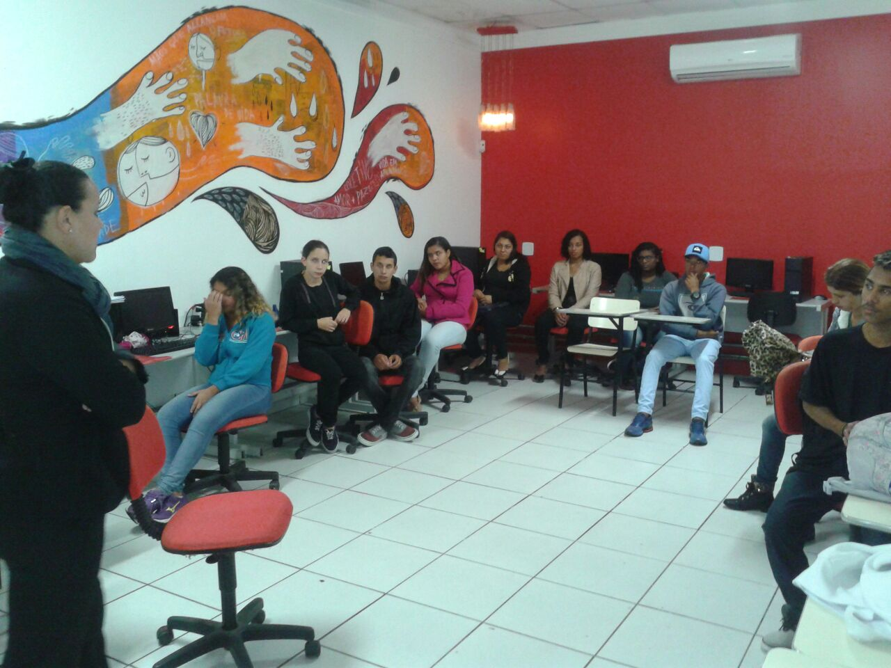 Workshop do Mc Donald's na APV